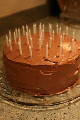 Chocolate buttercream cake from Chelsea in Oakland, CA