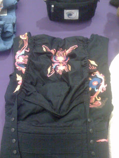 New Black Embroidered Ergo Baby Carrier