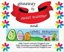 SWEET WANNUR & comel bergaya giveaway (20 DEC 09)