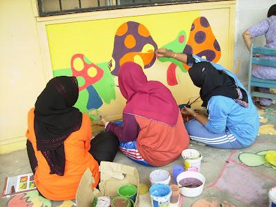 Program pendidikan khas integrasi sk selayang jaya for Mural untuk kanak kanak