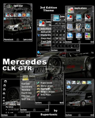 Ferrari Enzo Theme\ Mercedes CLK GTR Theme \ Stingray Dream Theme