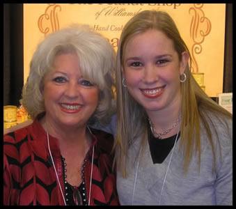 with Paula Deen