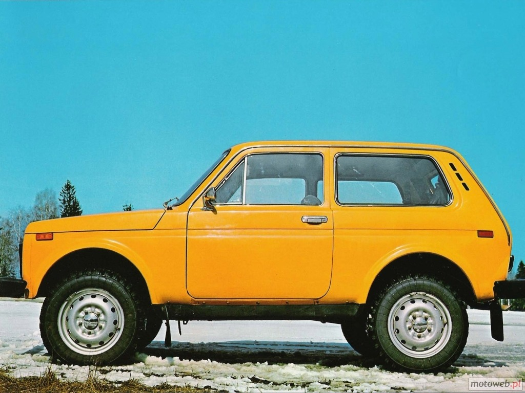 Ever heard of a LADA Niva?