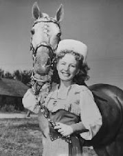 Dale Evans with Trigger