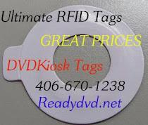 DVDNow Kiosk RFID Tags