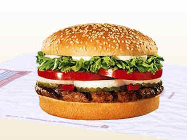 rahsia burger nampak sedap