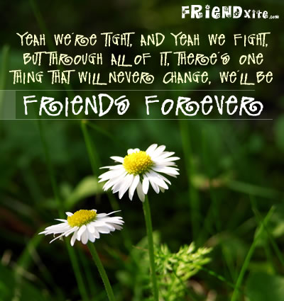 friends forever quotes for facebook. the reason why
