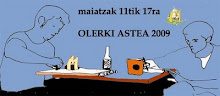 olerki astea 2009 -maiatzak 12tik 17ra.