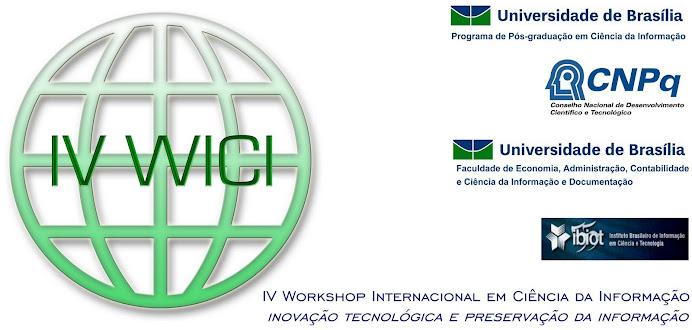 Workshop Internacional em Ciência da Informação - WICI