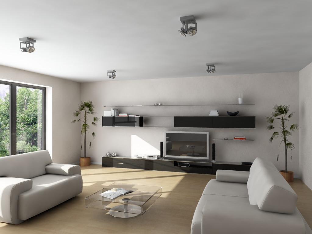 Ttproyectos renders de interiores for Interior casa minimalista