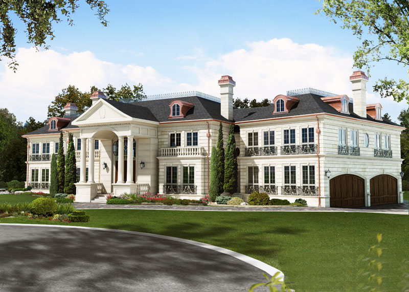 Newly built grand mississauga mansion homes of the rich for Luxury home plans canada