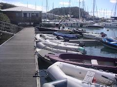 LE MARIN puerto de dinghyes con Mango bay