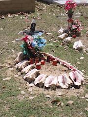 LES SAINTES. Un cementerio