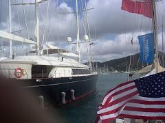 ANTIGUA 1. Barcos de lujo.