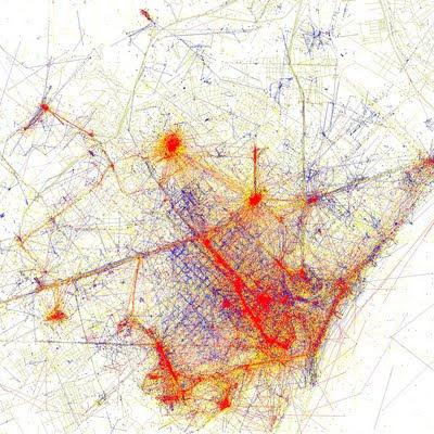 Locales vs. visitantes en Barcelona
