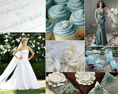 cupcakes by Haute Cakes bridesmaids dress Jim Hjelm style 5824 wedding