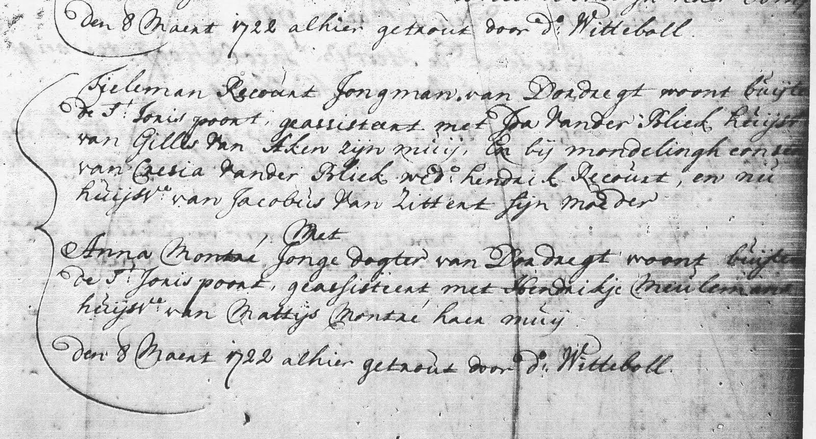 Searching for the roots of recourt roucourt family
