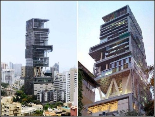 Take a long look at this billion dollar home that features 27 floors,