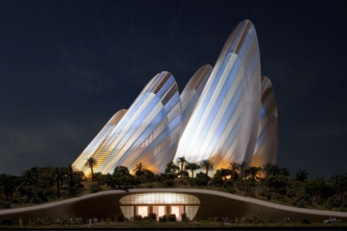 National Museum of Zayed in Abu Dhabi