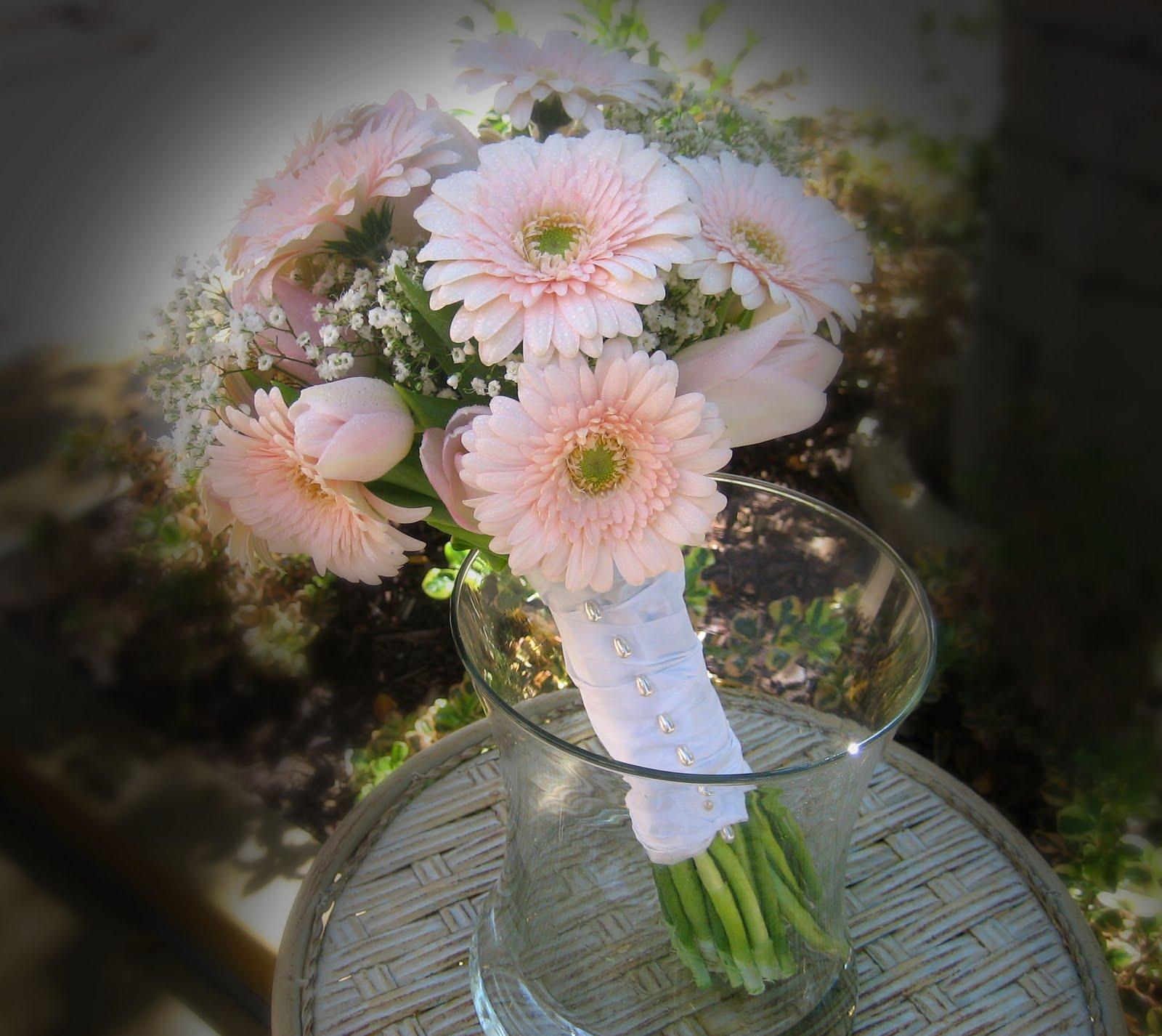 Pale Pink Wedding Flower Bouquets: La Jolla Village Florist: Pale Pink Bridal Bouquet
