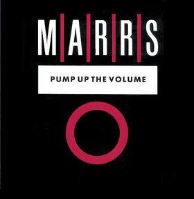 M|A|R|R|S - Pump Up The Volume, Maxi-Single