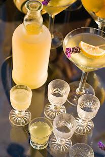 Limoncello Lavender Martini