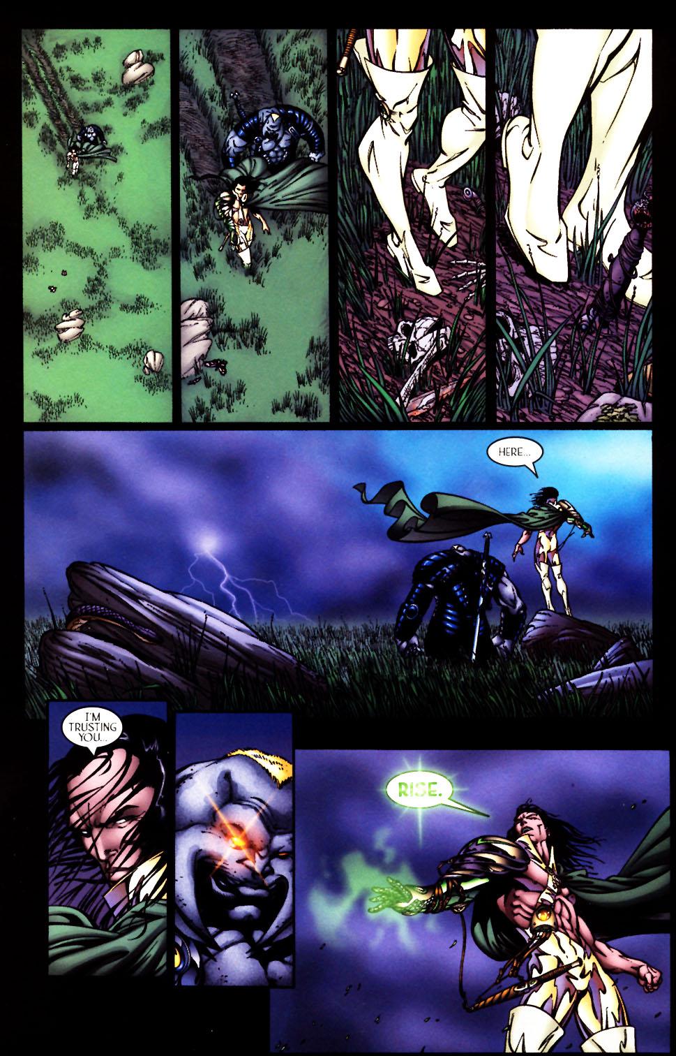 Read online Scion comic -  Issue #4 - 25