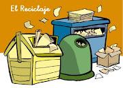 El Reciclaje transforma materiales usados