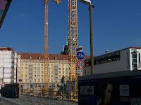 Baustelle Dresden Altmarkt Galerie