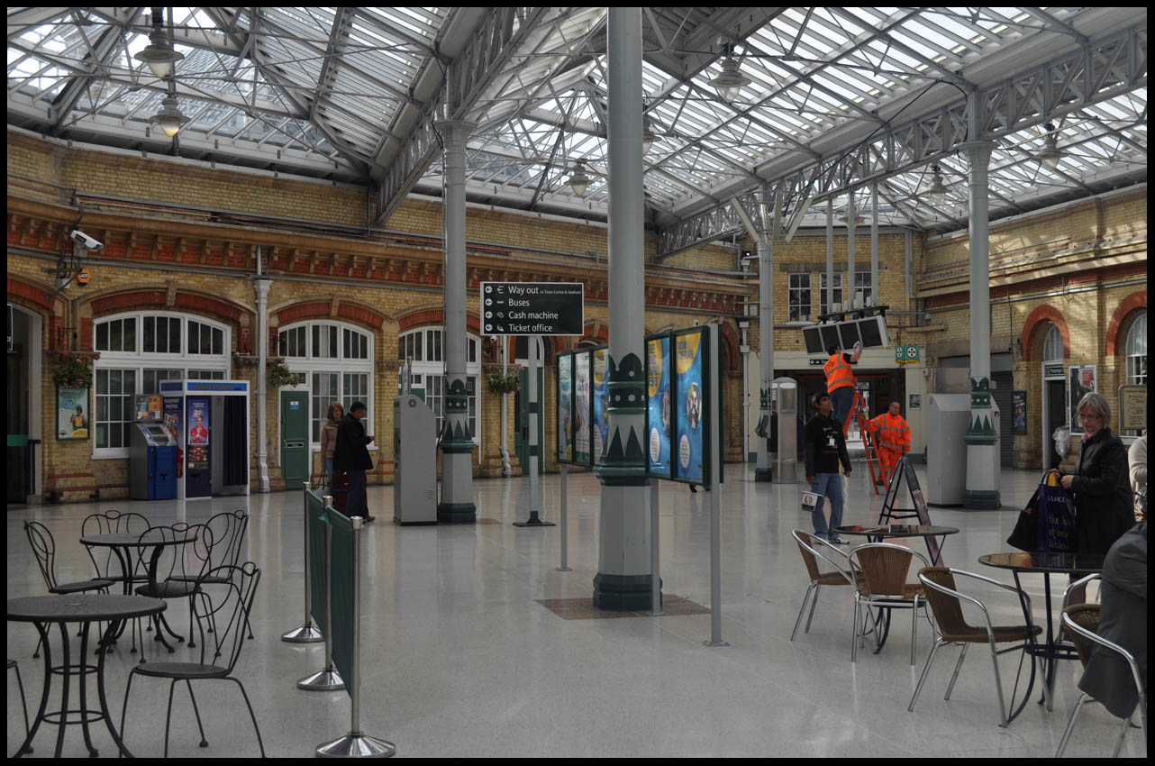 phil beard great railway stations number 3 eastbourne