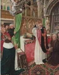 Museo Nacional de Arte de Londres: La Misa de San Gil
