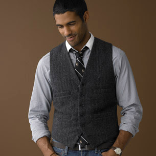 Jeans Vest Tie