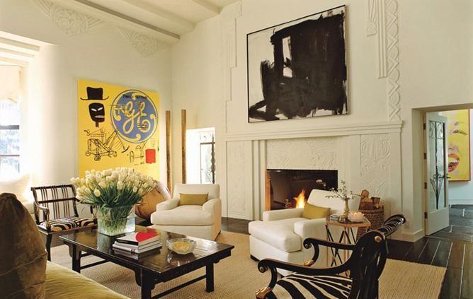 Interior Design Setting: Art in Interior Design