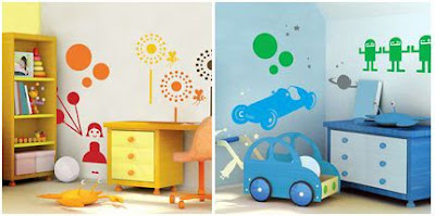 Цветни идеи за декорация на дома