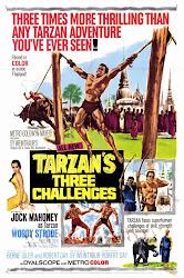 Baixe imagem de Os Três Desafios de Tarzan (Dublado) sem Torrent