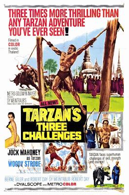 Os Três Desafios de Tarzan   Dublado Download