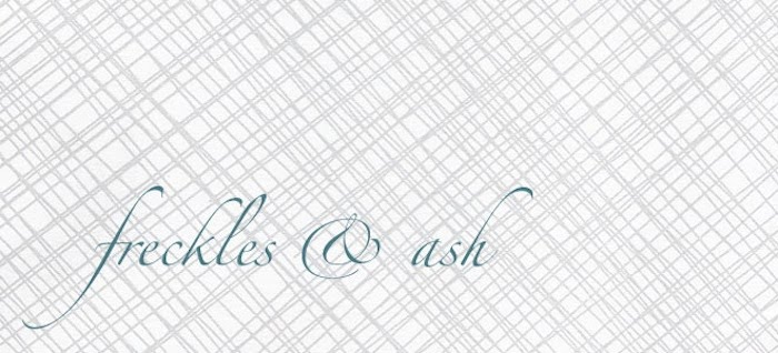 freckles & ash