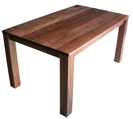 Simple Wood Dining Table Iannone