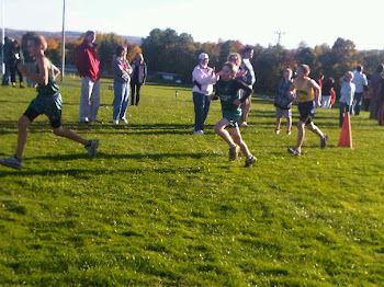 My son Vincent at a cross country meet