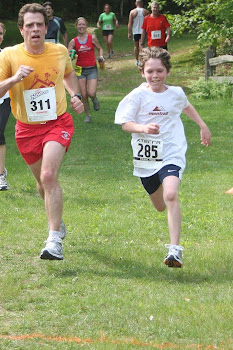 My son Patrick running!