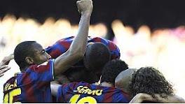 Barcelona Primera Division crown 2010
