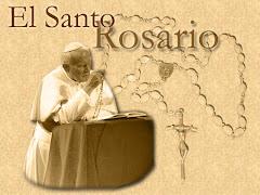 Yo rezo el Rosario y tu?