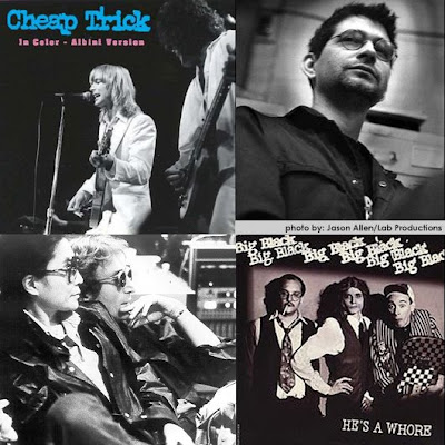 Cheap Trick In Color mix by Steve Albini
