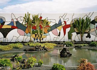 Tahíche en kunstnerby på Lanzarote