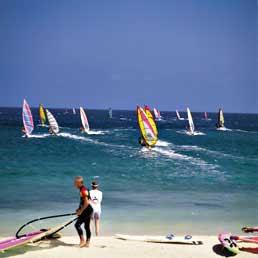 Windsurfing på Lanzarote