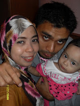 me, hubby and our beloved daughter, Hannan