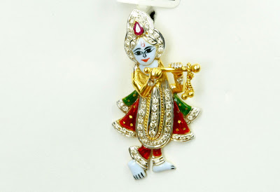 Sone pe suhaga shri krishna pendants in gold and diamond at kathana shri krishna pendants in gold and diamond at kathana aloadofball Image collections
