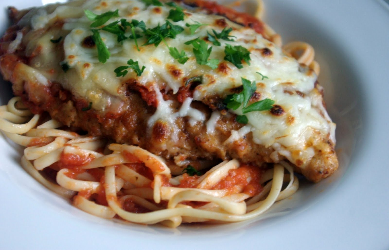 Chicken Parmesan - Sprinkles of Parsley