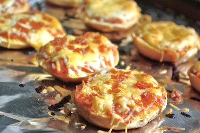 Homemade Bagel Bites, Healthy Junk Food