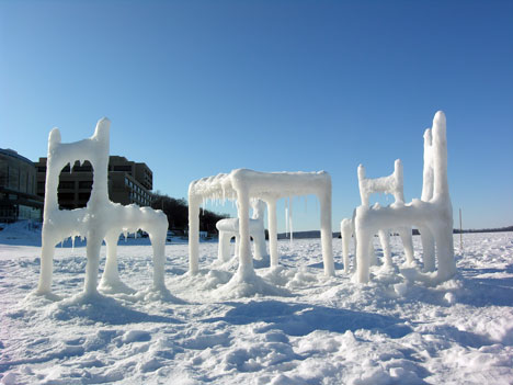 Snow Furniture